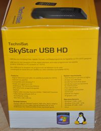 TechniSat SkyStar USB HD packaging